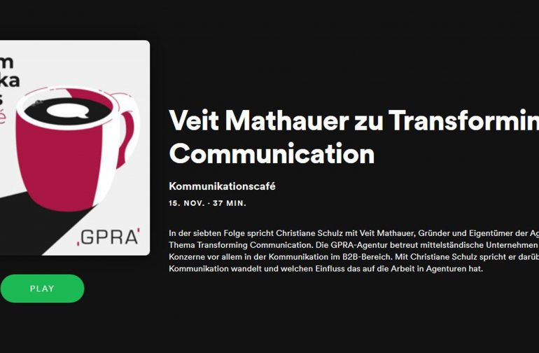 Podcast: Kommunikation ohne Patentrezept